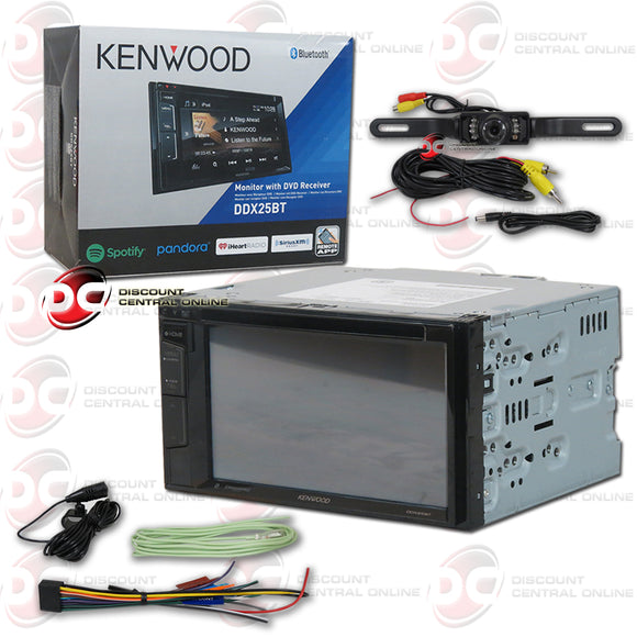 Kenwood DDX25BT 2-DIN 6.2
