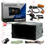 "Kenwood DDX375BT 2-DIN 6.2"" Car CD DVD Car Stereo with Bluetooth (WITH BACK-UP CAMERA)"