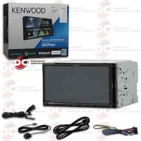 "Kenwood DDX9704S 2-Din 6.95"" Car CD/DVD Receiver with Bluetooth"