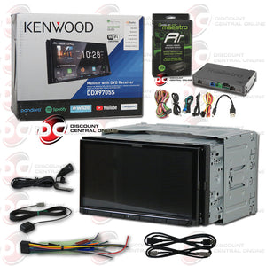 "Kenwood DDX9705S 2-Din 6.95"" Car AM/FM/CD/DVD Receiver With Bluetooth and Android/Apple Carplay Plus iDatalink Maestro ADS-MRR"