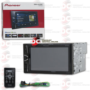 "PIONEER DMH-G225BT 2-DIN 6.2"" TOUCHSCREEN CAR DIGITAL MEDIA RECEIVER WITH BLUETOOTH & ANDROID SUPPORT"