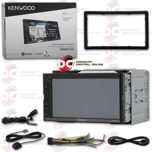 "KENWOOD DNR476S 2-DIN 6.75"" TOUCHSCREEN CAR USB/DIGITAL MEDIA RECEIVER WITH BLUETOOTH GPS"