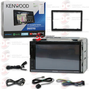 "KENWOOD DNX575S 2-DIN 6.8"" CAR DVD/NAVIGATION/ANDROID AUTO/APPLE CARPLAY RECEIVER WITH BLUETOOTH"