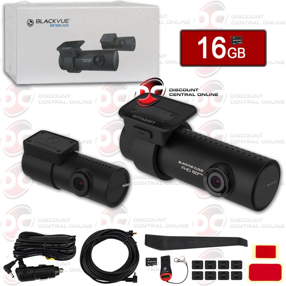 BLACKVUE DR750S-2CH 1080P DUAL LENS GPS/WIFI DASHCAM (FRONT AND REAR)