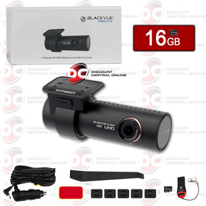 BLACKVUE DR900S-1CH 4K SINGLE LENS GPS DASHCAM WITH WIFI AND CLOUD
