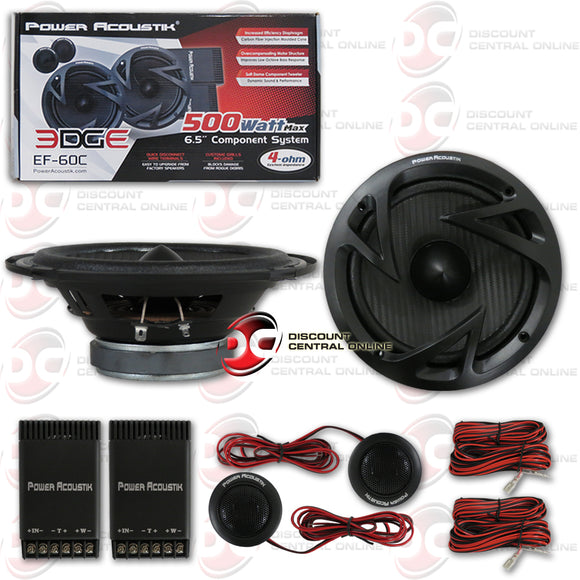 POWER ACOUSTIK EF-60C 6.5