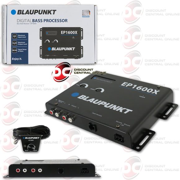 BLAUPUNKT EP1600X CAR DIGITAL BASS PROCESSOR