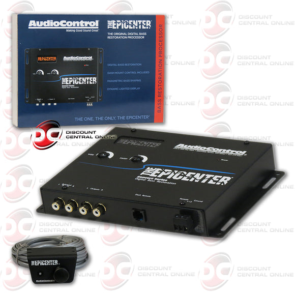 AUDIOCONTROL THE EPICENTER CAR AUDIO DIGITAL BASS RESTORATION BLACK