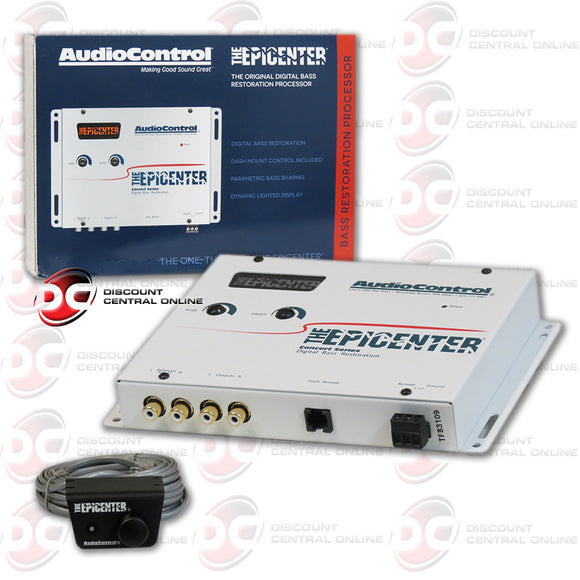 AUDIOCONTROL THE EPICENTER CAR AUDIO DIGITAL BASS RESTORATION WHITE