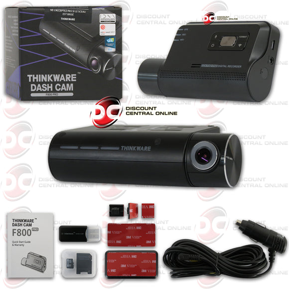 THINKWARE F800PRO 1080P SINGLE LENS PREMIUM WiFi/CLOUD DASH CAMERA