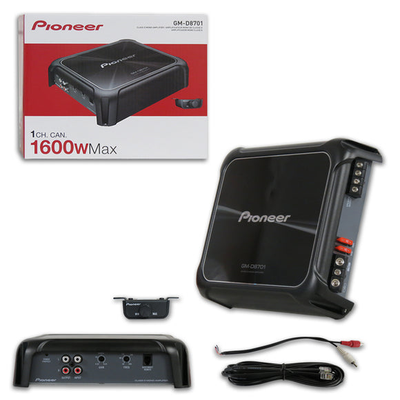 PIONEER GM-D8701 CLASS D MONO BLOCK CAR AMPLIFIER