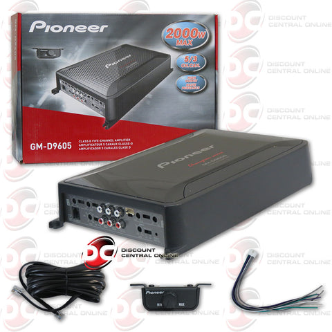 Pioneer GM-D9605 5-channel class D amplifier