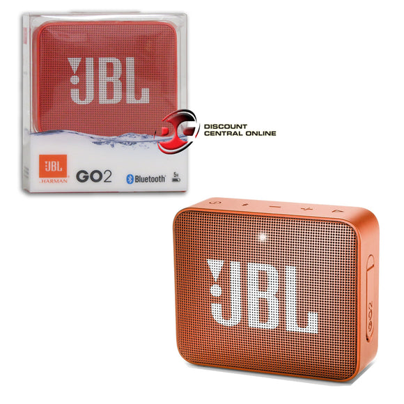 JBL GO 2 IPX7 WATERPROOF WIRELESS PORTABLE BLUETOOTH SPEAKER
