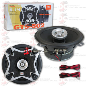 "JBL GT5-502 5"" 2-Way Speakers Coaxial Speakers"
