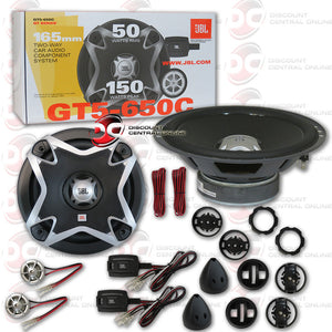 JBL GT5-650C 165mm 2 Way Component Car Speaker System