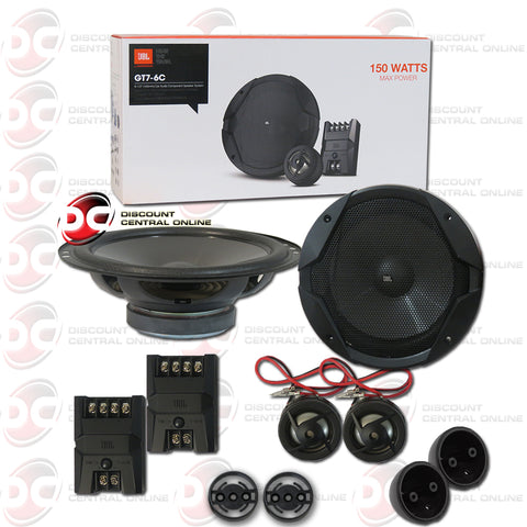 "JBL GT7-6C 6.5"" 2-WAY CAR AUDIO COMPONENT SPEAKER SYSTEM (GT7 SERIES)"