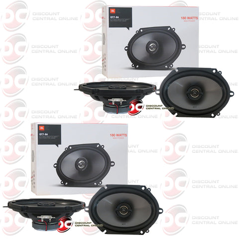 "2X JBL-GT7-86 6x8"" 2-way Car Audio Coax Coaxial Speakers"