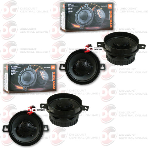 "4 X JBL GTO329 3.5"" CAR AUDIO SPEAKERS (GTO SERIES)"