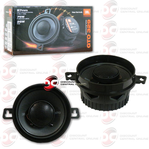"JBL GTO329 3.5"" CAR AUDIO SPEAKERS (GTO SERIES)"