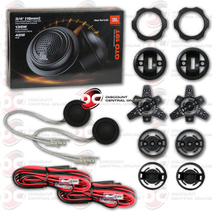 "JBL GTO19T 3/4"" Car Tweeters with Passive Crossover Network"