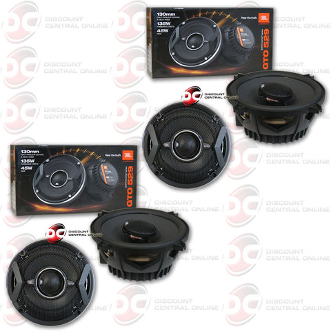 "4  x JBL GTO529 5-1/4"" 2-Way GTO Series Coaxial Car Speakers"