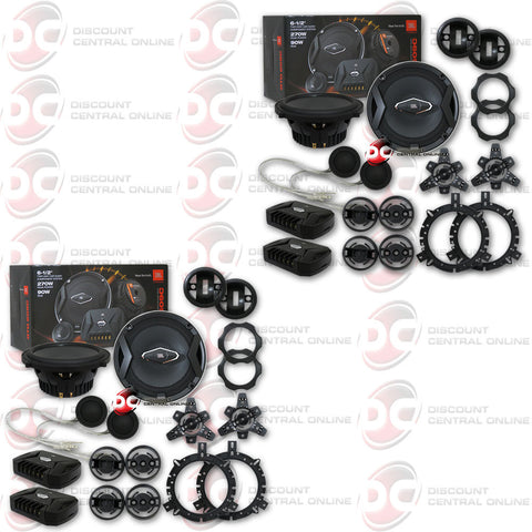 "2 x JBL GTO609C 6.5"" CAR AUDIO 2-WAY COMPONENT SPEAKER SYSTEM GTO 609C (GRAND TOURING SERIES)"
