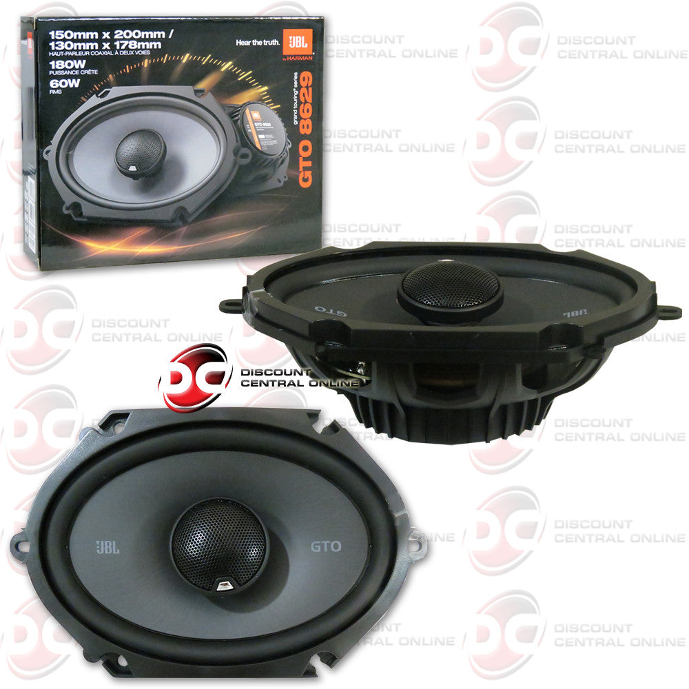 "JBL GTO8629 5"" x 7"" / 6"" x 8"" Car Audio Speakers (GTO Series)"