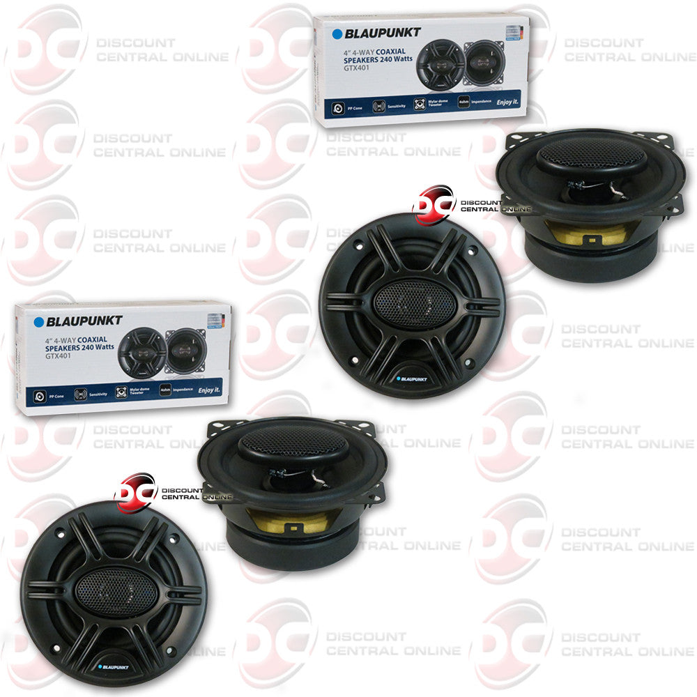 "2X BLAUPUNKT GTX401  4"" CAR AUDIO SPEAKERS"