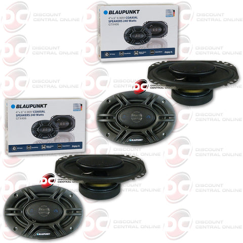 "4X BLAUPUNKT GTX406 4"" X 6"" CAR AUDIO SPEAKERS"