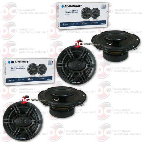 "4 x Blaupunkt GTX650 6.5"" Car Audio Speakers"