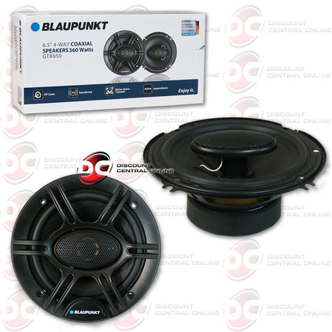 "Blaupunkt GTX650 6.5"" Car Audio Speakers"