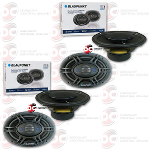 "4x Blaupunkt GTX690 6"" X 9"" Car Audio Speakers"