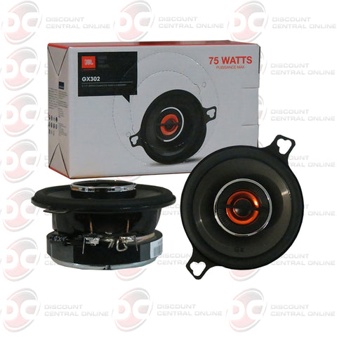 "JBL GX302 3.5"" CAR AUDIO 2-WAY COAXIAL SPEAKERS"