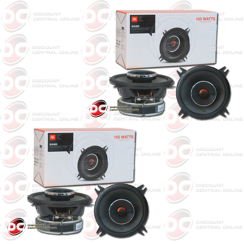 "2X JBL GX402 4"" 2-WAY CAR AUDIO COAXIAL SPEAKERS (GX SERIES)"