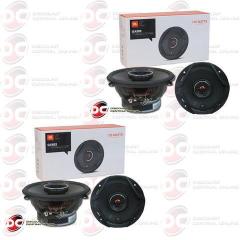 "2X JBL GX502 5-1/4"" 2-WAY CAR AUDIO COAXIAL SPEAKERS (GX SERIES)"