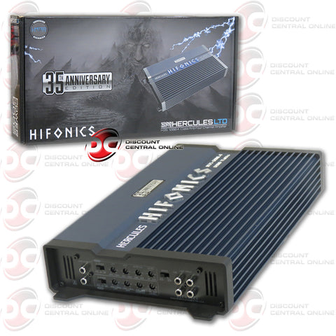 Hifonics H351200.4 Hercules LTD 35th Anniversary Limited Edition 4-Channel Car Audio Amplifier