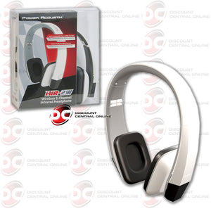 Power Acoustik 2 Channel Infrared Headphone (White)
