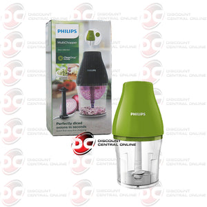 Philips HR2505/32 Viva Collection Multi Chopper W/ Chop Drop Technology (Green)