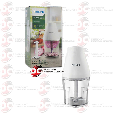 Philips HR2505/56 Viva Collection Multi Chopper W/ Chop Drop Technology (White)