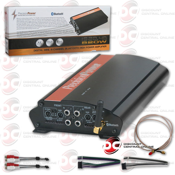Precision Power PPI iON 4-Channel Subwoofer Amplifier with Bluetooth