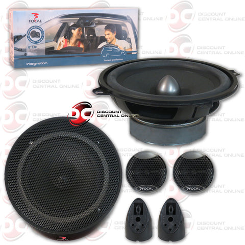 "FOCAL INTEGRATION IS130 5-1/4"" CAR AUDIO COMPONENT SPEAKER SYSTEM"