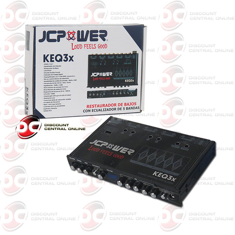 JC Power KEQ3x Five Band Graphic Equalizer