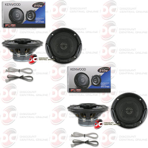"KENWOOD KFC-E1065 4"" 2-WAY CAR COAXIAL SPEAKERS (2 PAIRS)"