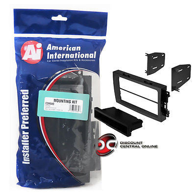 American International CD-K649 Car Stereo Double/ Single Din Dash Kit (CDK649)