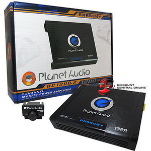 PLANET AUDIO AC1200.2 2-CHANNEL CAR AUDIO AMPLIFIER