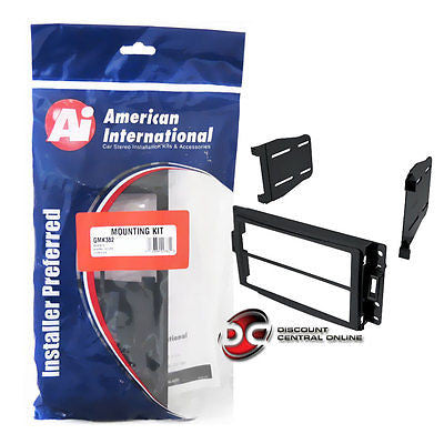 AMERICAN INTERNATIONAL GM-K382 CAR STEREO DOUBLE/DUAL DIN DASH KIT (GMK382)