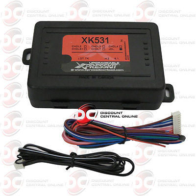 XPRESSKIT XK531 REMOTE START INTERFACE, DOOR LOCK & ALARM CONTROL FOR PYTHON