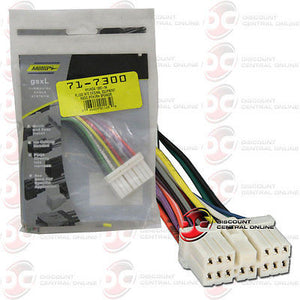 Peachy Metra 71 7300 Reverse Wiring Harness For Select 1991 2002 Hyundai Wiring Digital Resources Remcakbiperorg