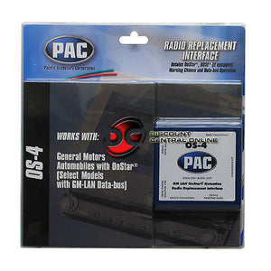 PAC OS-4 RADIO REPLACEMENT  INTERFACE FOR SELECT GM VEHICLES