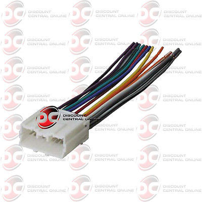 Aftermarket Stereo Wiring Harness For Select 1995-2008 Chrysler & Mitsubishi